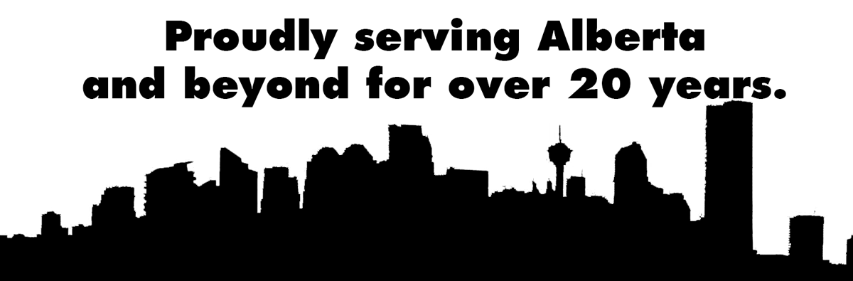 Serving Calgary for 25 Years